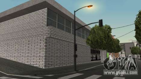 Structure of garages and buildings in SF for GTA San Andreas second screenshot