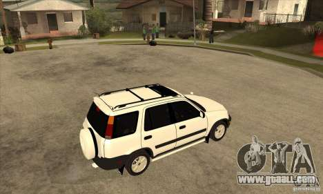 Honda CRV 1997 for GTA San Andreas right view