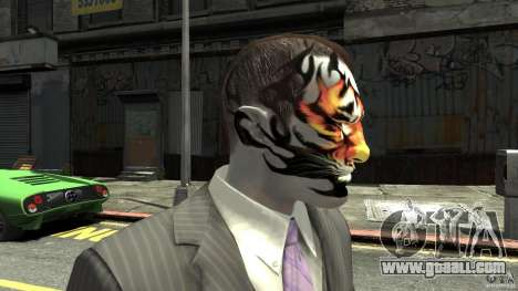 Tatoo Tiger for GTA 4 third screenshot