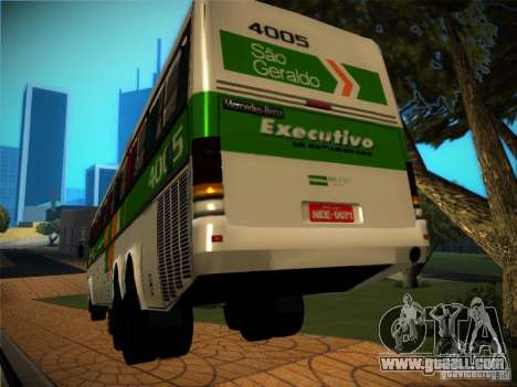 Mercedes-Benz O400 Monobloco for GTA San Andreas back view