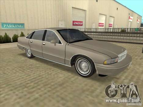 Chevrolet Caprice 1991 for GTA San Andreas left view