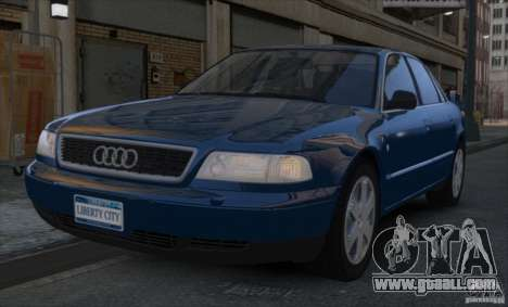 Audi A8 2000 for GTA 4