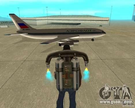 Ilyushin Il-86 for GTA San Andreas right view
