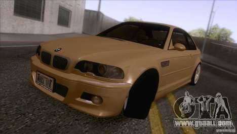 BMW M3 E48 for GTA San Andreas left view