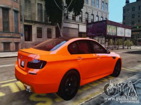 BMW M5 F10 2012 Aige-edit for GTA 4 left view