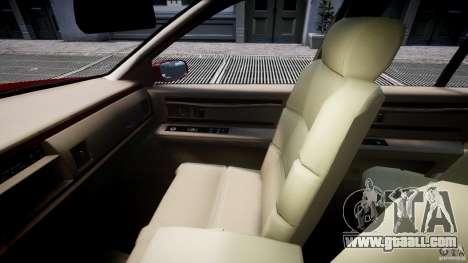 Buick Roadmaster Sedan 1996 v 2.0 for GTA 4 inner view