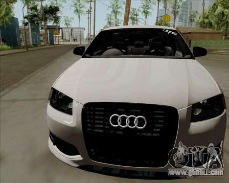 Audi S3 V.I.P for GTA San Andreas back left view
