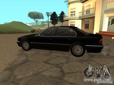BMW 740I E38 (RUS) for GTA San Andreas left view