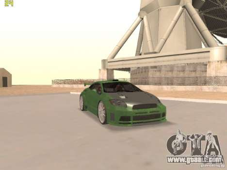 Mitsubishi Eclipse GT NFS-MW for GTA San Andreas interior