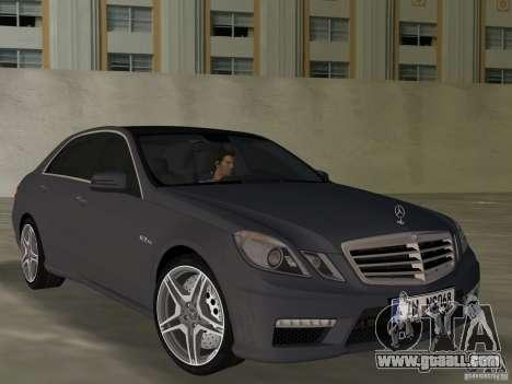 Mercedes-Benz E63 AMG for GTA Vice City
