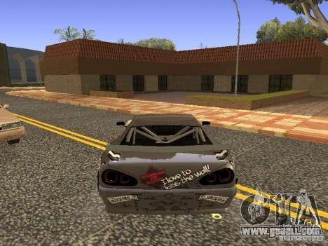 Elegy Drift Korch v2.1 for GTA San Andreas left view