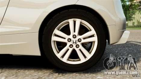 Honda Mugen CR-Z v1.1 for GTA 4 inner view