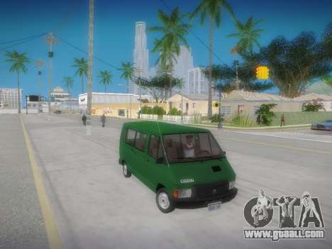 Renault Trafic T1000D Minibus for GTA San Andreas right view