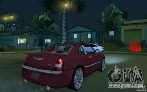 Chrysler 300c Roadster Part2 for GTA San Andreas right view