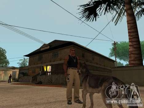 Dog in GTA San Andreas for GTA San Andreas second screenshot