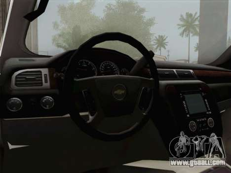 Chevrolet Silverado 2500HD 2013 for GTA San Andreas engine