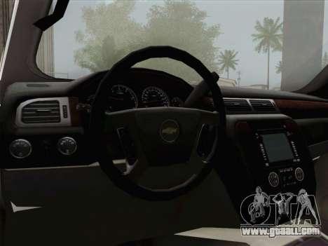 Chevrolet Silverado 2500HD 2013 for GTA San Andreas engine