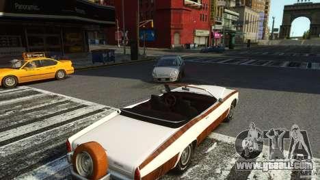 Buccaneer Final for GTA 4 back view
