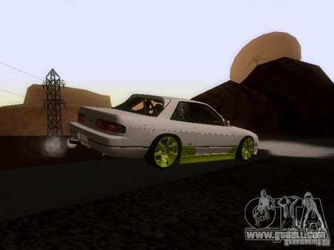 Nissan Silvia S13 Drift Style for GTA San Andreas back left view