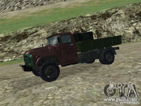 ZIL 130 Onboard for GTA San Andreas right view