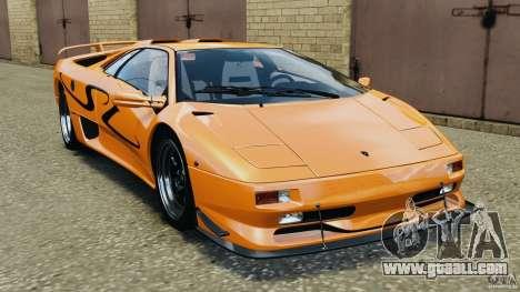Lamborghini Diablo SV 1997 v4.0 [EPM] for GTA 4