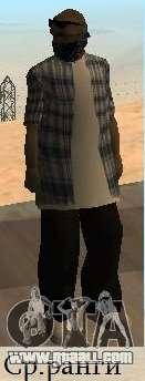 Los Surenos 13 skins for GTA San Andreas forth screenshot