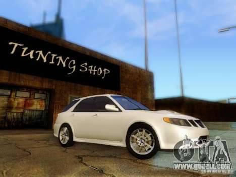 Saab 9-2 Aero Beta 2005 for GTA San Andreas back view