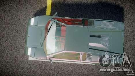 Lamborghini Countach v1.1 for GTA 4 right view