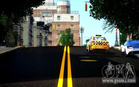 Different HD Roads for GTA 4 second screenshot