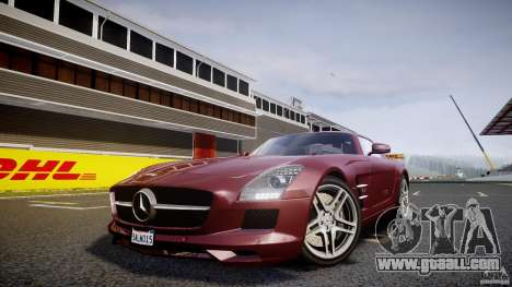 Mercedes-Benz SLS AMG 2010 [EPM] for GTA 4