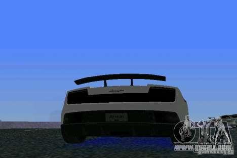 Lamborghini Gallardo LP570 SuperLeggera for GTA Vice City right view