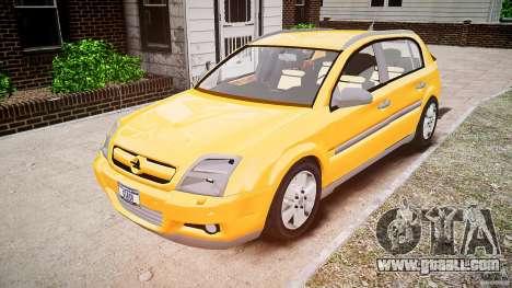 Opel Signum 1.9 CDTi 2005 for GTA 4