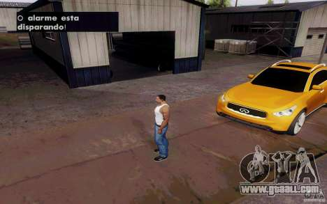 Alarme Mod v4.5 for GTA San Andreas fifth screenshot