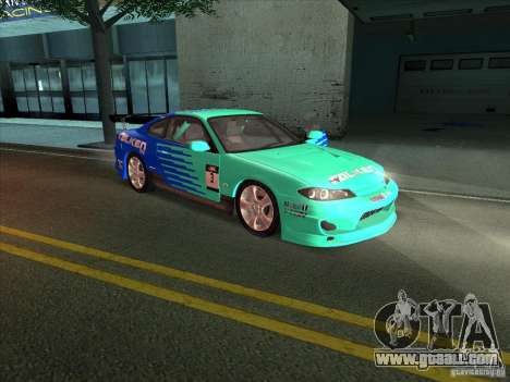 Nissan Silvia S15 Tunable KIT C1 - TOP SECRET for GTA San Andreas inner view