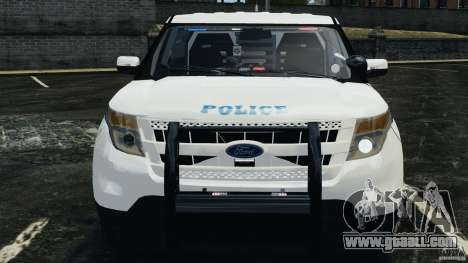 Ford Explorer NYPD ESU 2013 [ELS] for GTA 4 inner view