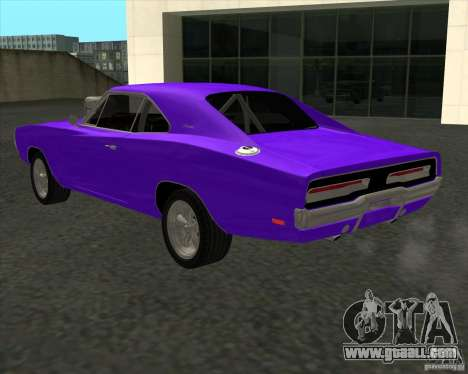 Dodge Charger RT 1970 The Fast and The Furious for GTA San Andreas inner view