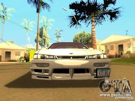 Nissan 200SX JDM for GTA San Andreas back left view