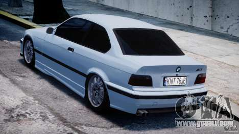 BMW M3 e36 for GTA 4 back left view