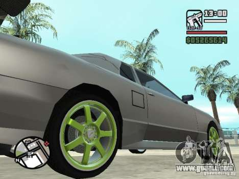 Elegy First Update By reNz for GTA San Andreas left view