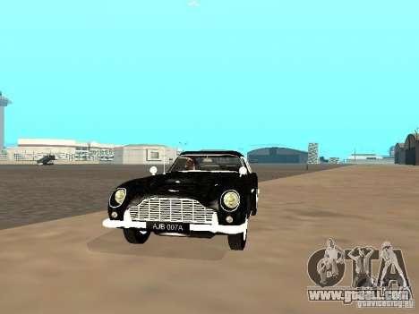 Aston Martin DB5 for GTA San Andreas left view