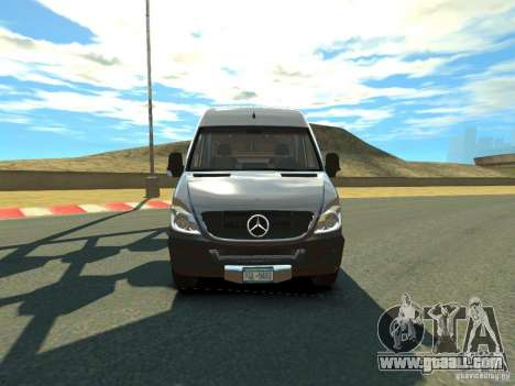 Mercedes-Benz Sprinter 2500 for GTA 4 left view