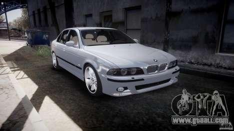 BMW M5 E39 Stock 2003 v3.0 for GTA 4 inner view