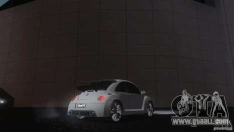 Volkswagen Beetle Tuning for GTA San Andreas back left view