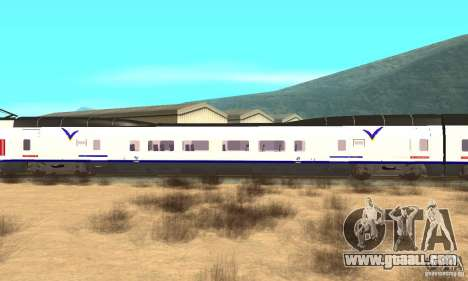 Express Train for GTA San Andreas back left view