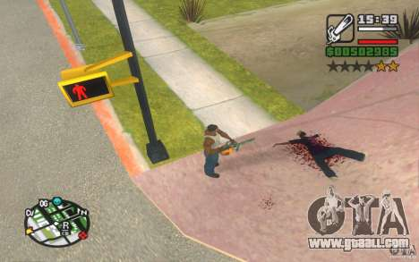 New effects for GTA San Andreas second screenshot