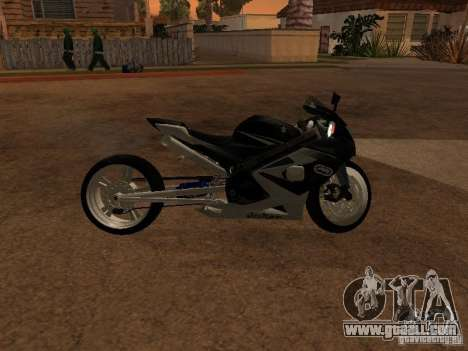 Suzuki GSX-R 750 for GTA San Andreas left view