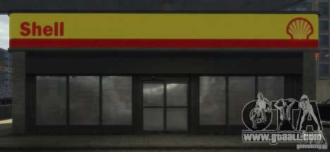 Shell Petrol Station for GTA 4 sixth screenshot