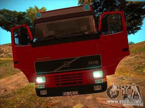 Volvo FH12 for GTA San Andreas bottom view