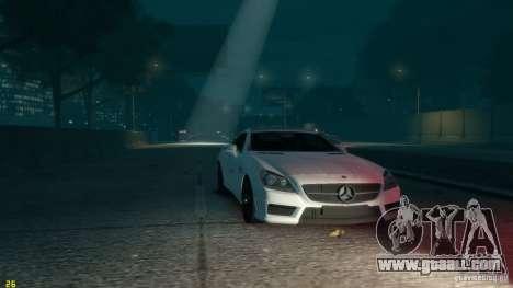Mercedes-Benz SLK55 R172 AMG 2011 v1.0 for GTA 4 back view