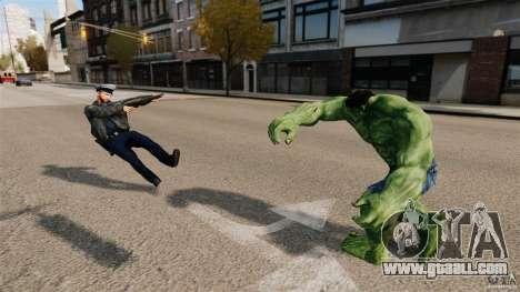 Hulk script for GTA 4 sixth screenshot